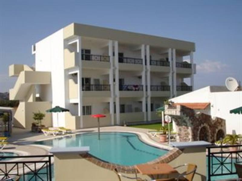 Appartementen Bright Star - Faliraki - Rhodos